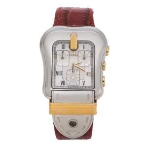 ساعة يد نسائية فندي B.Fendi 3900G ستانلس ستيل لونين صدف 36 مم