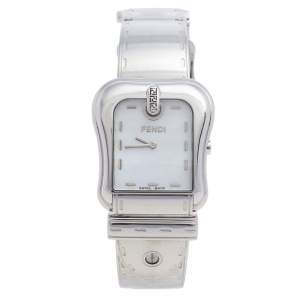 Fendi Mother Of Pearl Stainless Steel B.Fendi 3800G Women's Wristwatch 33 mm
