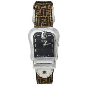 Fendi Black Stainless Steel B.Fendi 3800G Women's Wristwatch 33 mm