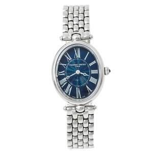 Frederique Constant Blue Stainless Steel Art Deco FC-200X2V Women's Wristwatch 25 mm