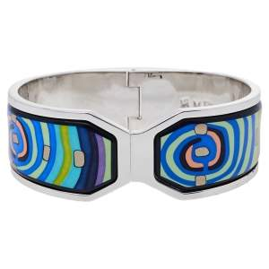 Frey Wille Hommage à Hundertwasser Spiral of Life Clasp Contessa Bracelet