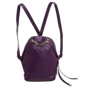 حقيبة ظهر فورلا ميني سباي جلد بنفسجي