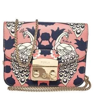 حقيبة كروس فورلا ميني ميتروبوليس جلد بيكوك متعدد الألوان