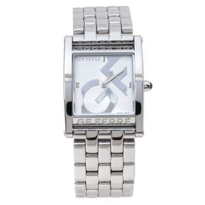GF Ferre Silver Stainless Steel GF.9017L Women's Wristwatch 26 mm