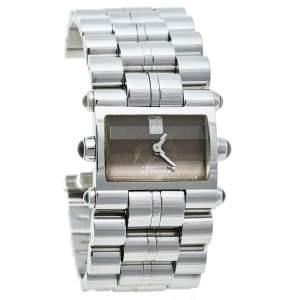 ساعة يد نسائية جيانفرانكو فيري GF.9004L كوارتز ستانلس ستيل بنية 28 مم
