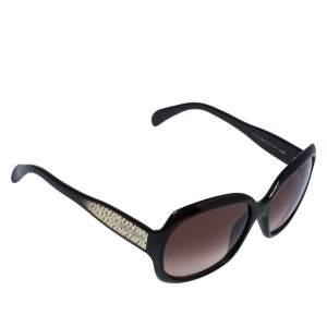 Giorgio Armani Brown Havana/ Brown Gradient GA 845/S Square Sunglasses