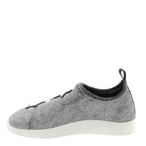 Giuseppe Zanotti Grey Alena Star Sneakers Size EU 36.5