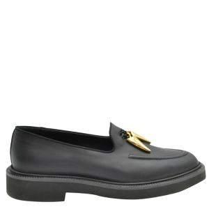 Giuseppe Zanotti Black Leather Fred Mocassins Size EU 36.5