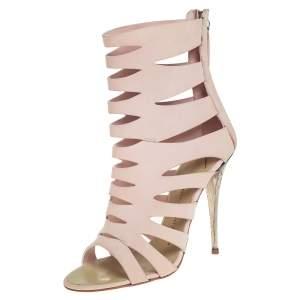 حذاء بوتيز جوسيبي زانوتي قصة جلد وردي مقاس 37.5