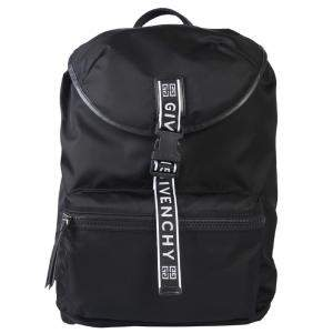 Givenchy Black Nylon 4G packaway Backpack Bag