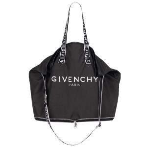 Givenchy Black Nylon Folding Tote Bag