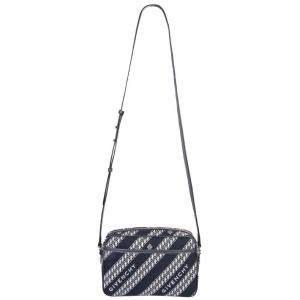 Givenchy Blue/White Canvas Chain-print Bag