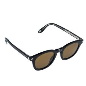 Givenchy Black/ Brown GV 7058/S Wayfarer Sunglasses