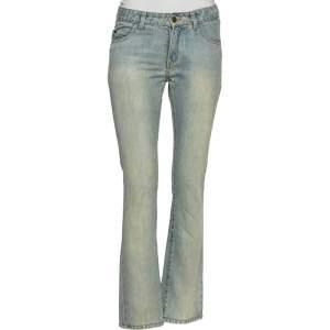Givenchy Light Blue Washed Denim Jeans M