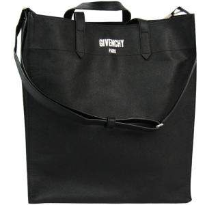 Givenchy Black Leather Large Tote