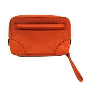 Givenchy Camel Leather Clutch Bag