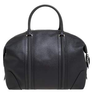 Givenchy Grey Leather Weekender Bag