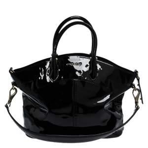 Givenchy Black Patent Leather Satchel