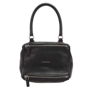 Givenchy Black Leather Pandora Bag