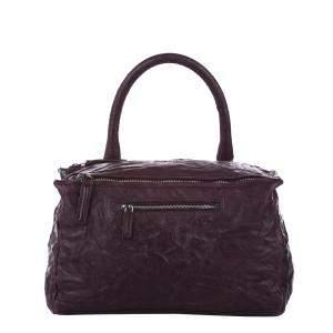 Givenchy Burgundy Leather Pandora Bag