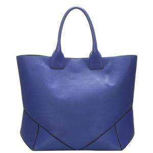Givenchy Blue Leather Easy Tote Bag