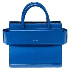 Givenchy Blue Leather Mini Horizon Crossbody Bag
