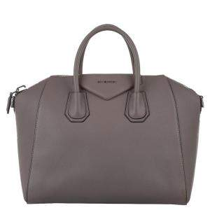 Givenchy Brown Leather Antigona Medium Bag