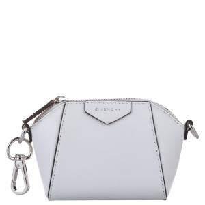 Givenchy White Leather Baby Antigona Crossbody Bag