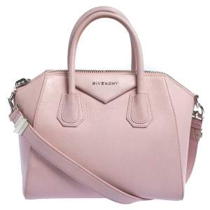 Givenchy Pink Leather Small Antigona Satchel