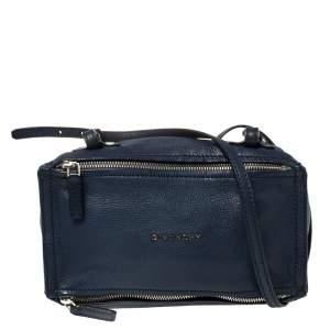 حقيبة كروس جيفنشي ميني باندورا جلد أزرق