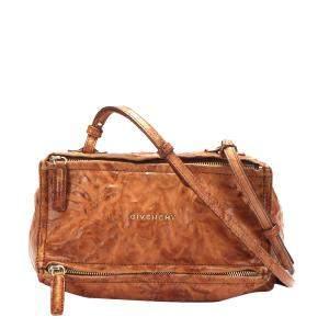 Givenchy Brown Leather Pandora Bag
