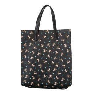 Givenchy Black/Multicolor Leather Floral Antigona Tote Bag