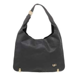 Givenchy Grey Leather Hobo