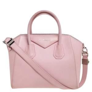 Givenchy Light Pink Leather Small Antigona Satchel