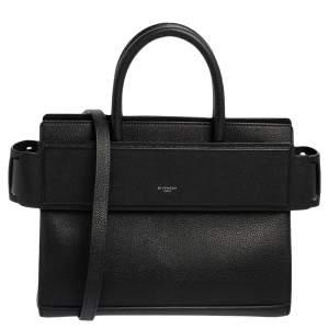 Givenchy Black Leather Horizon Tote