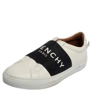 Givenchy White Leather Urban Street Sneakers Size 36