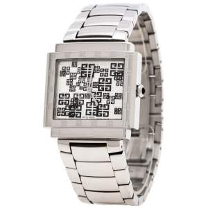 Givenchy Silver Stainless Steel New Apsaras REG.15588962 Women's Wristwatch 35MM