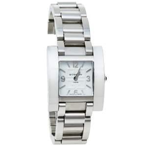 ساعة يد نسائية جيفنشي كيليوس 003013727 ستانلس ستيل بيضاء 29 مم