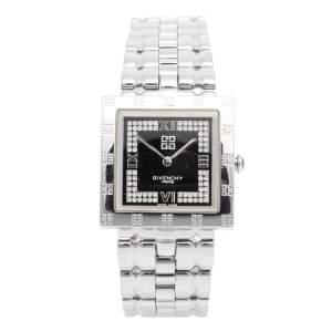 Givenchy Black Stainless Steel Apsaras REG1558962 Women's Wristwatch 27 mm