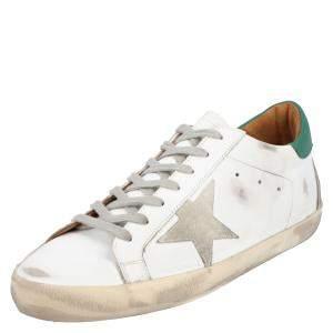 Golden Goose White Leather Sneaker Size EU 41