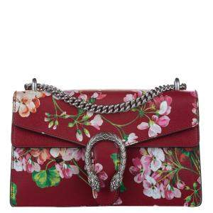 Gucci Multicolor Dionysus Blooms Leather Shoulder Bag
