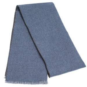 Gucci Blue GG Wool Jacquard Lonar Scarf