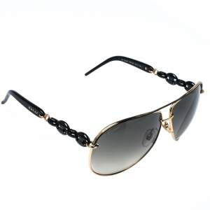 Gucci Gold Tone/ Grey Gradient GG 4225/S Aviator Sunglasses