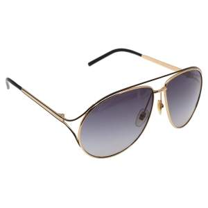 Gucci Gold Tone/ Grey Gradient GG4216/S Aviator Sunglasses