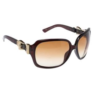 Gucci Brown/ Brown Gradient GG3006/S Oversized Sunglasses