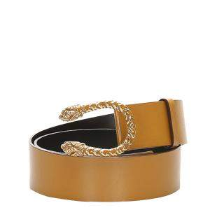 Gucci Brown/Gold Dionysus Leather Belt