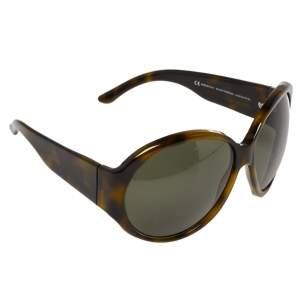 Gucci Green Tortoise GG2927 Strass Oversized Sunglasses
