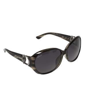 Gucci Black/Grey GG3726/F/S Oversized Sunglasses