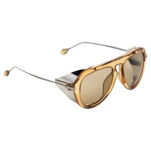 Gucci Yellow GG 3737/S Oval Sunglasses