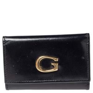 Gucci Black Leather Key Holder Case
